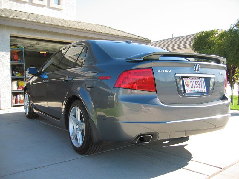 Rear Wing Spoiler Yes Or No AcuraZine Acura Enthusiast Community - Acura tl spoiler