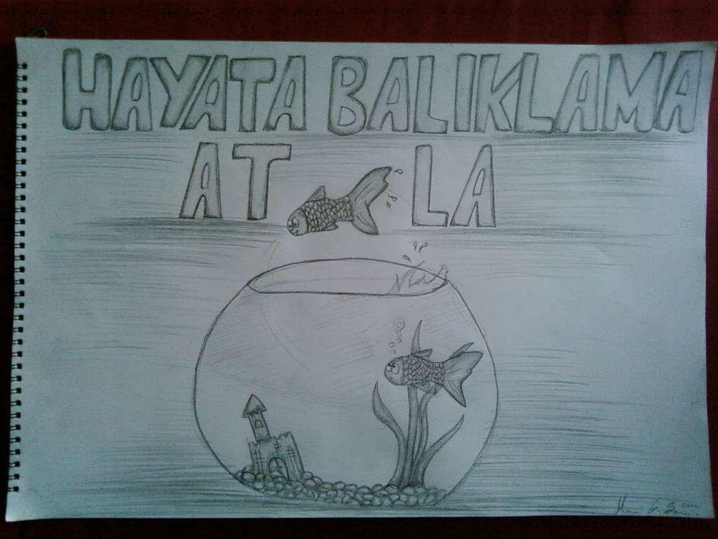 Karikatür öğrenci çalışmaları