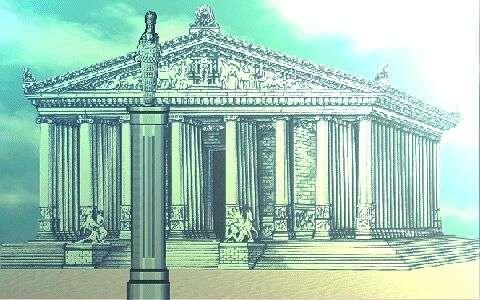 Artemis Tapınağı | M.Ö. 550 Yılında Efes Antik Kentinde Yapıldı – Dünyanın Yedi Harikasın..
